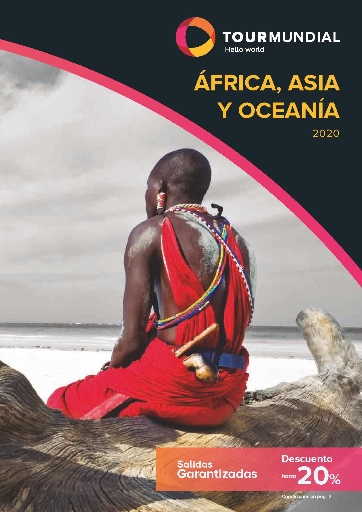 Catalogo Tourmundial Asia Africa y Oceania 2020