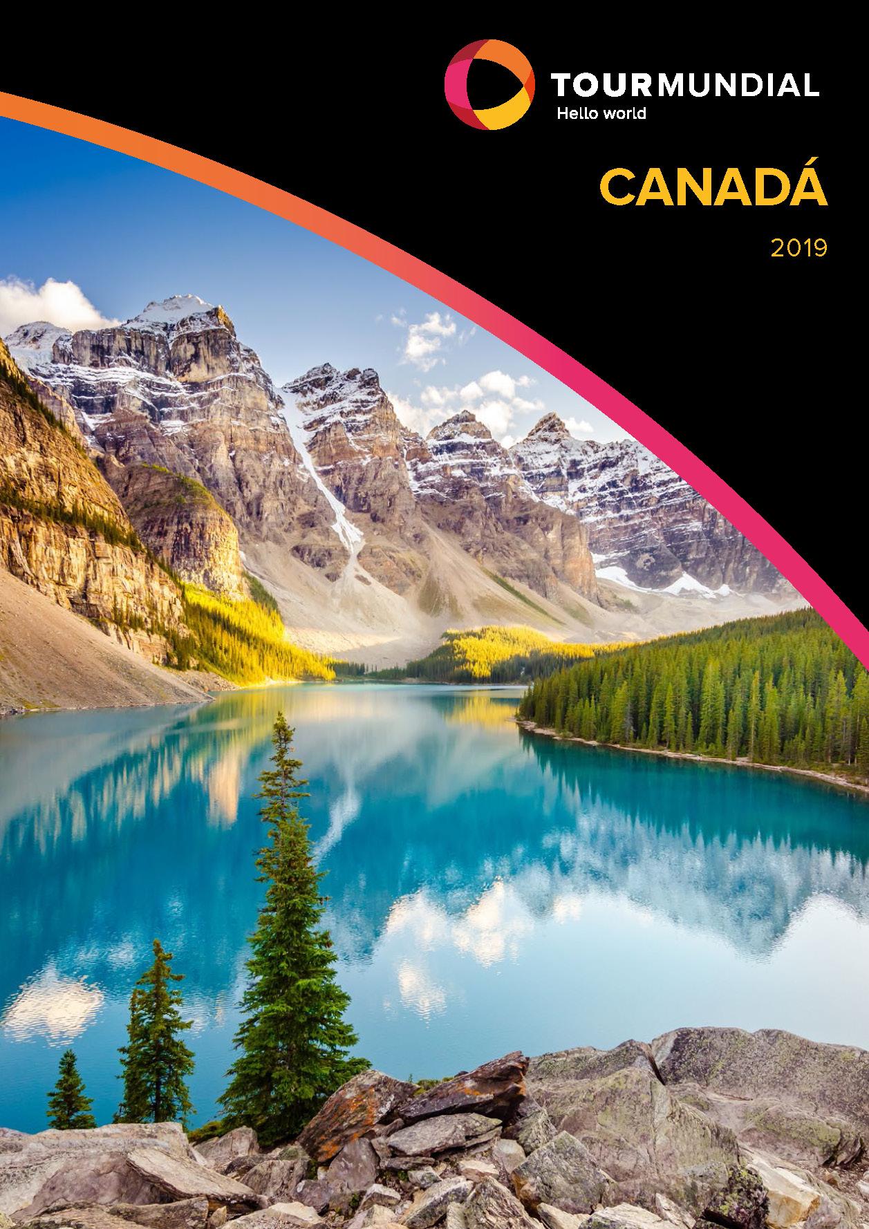 Catalogo Tourmundial Canada 2019