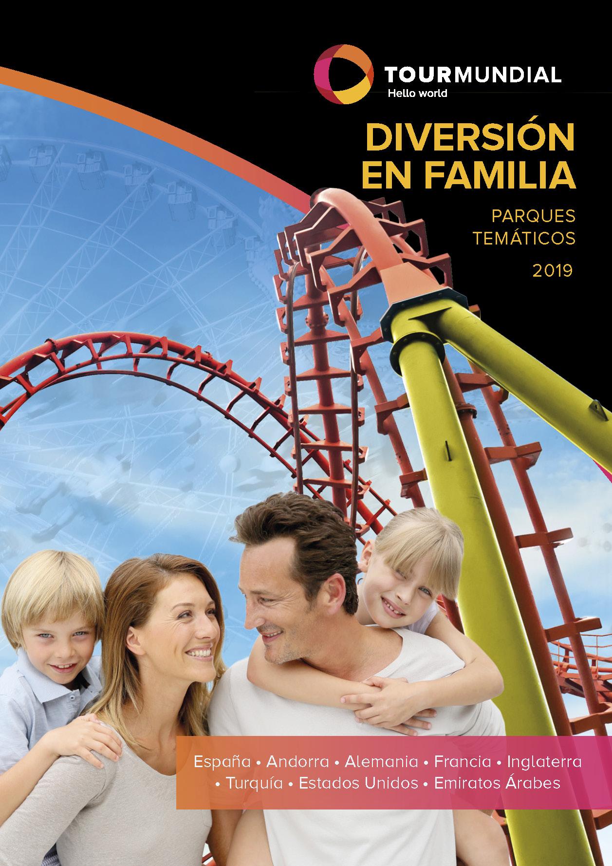 Catalogo Tourmundial Diversión en Familia 2019