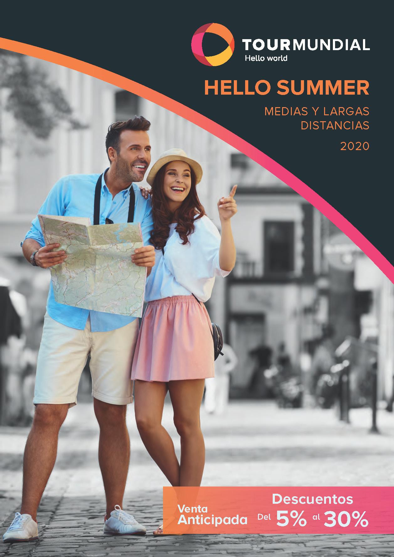 Catalogo Tourmundial Hello Summer Venta Anticipada 2020