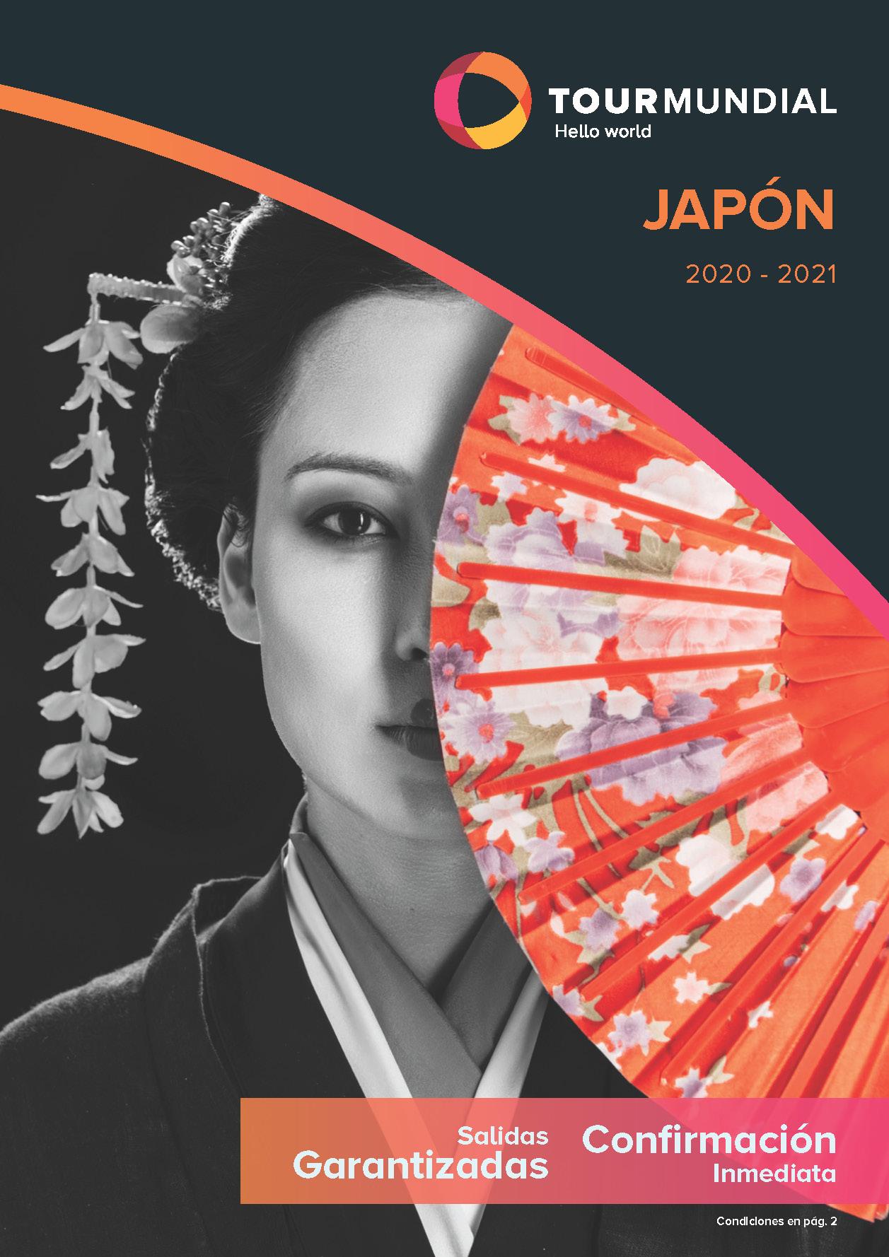 Catalogo Tourmundial Japon 2020-2021