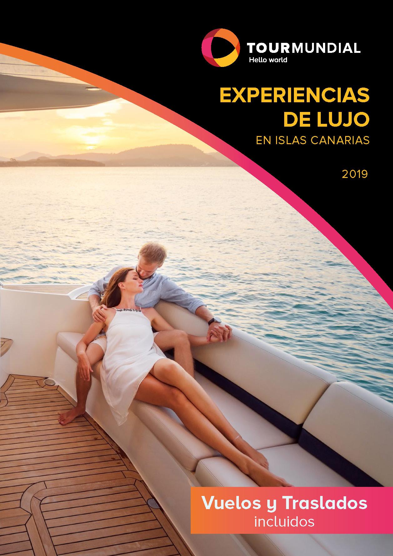 Catalogo Tourmundial Lujo en Canarias 2019