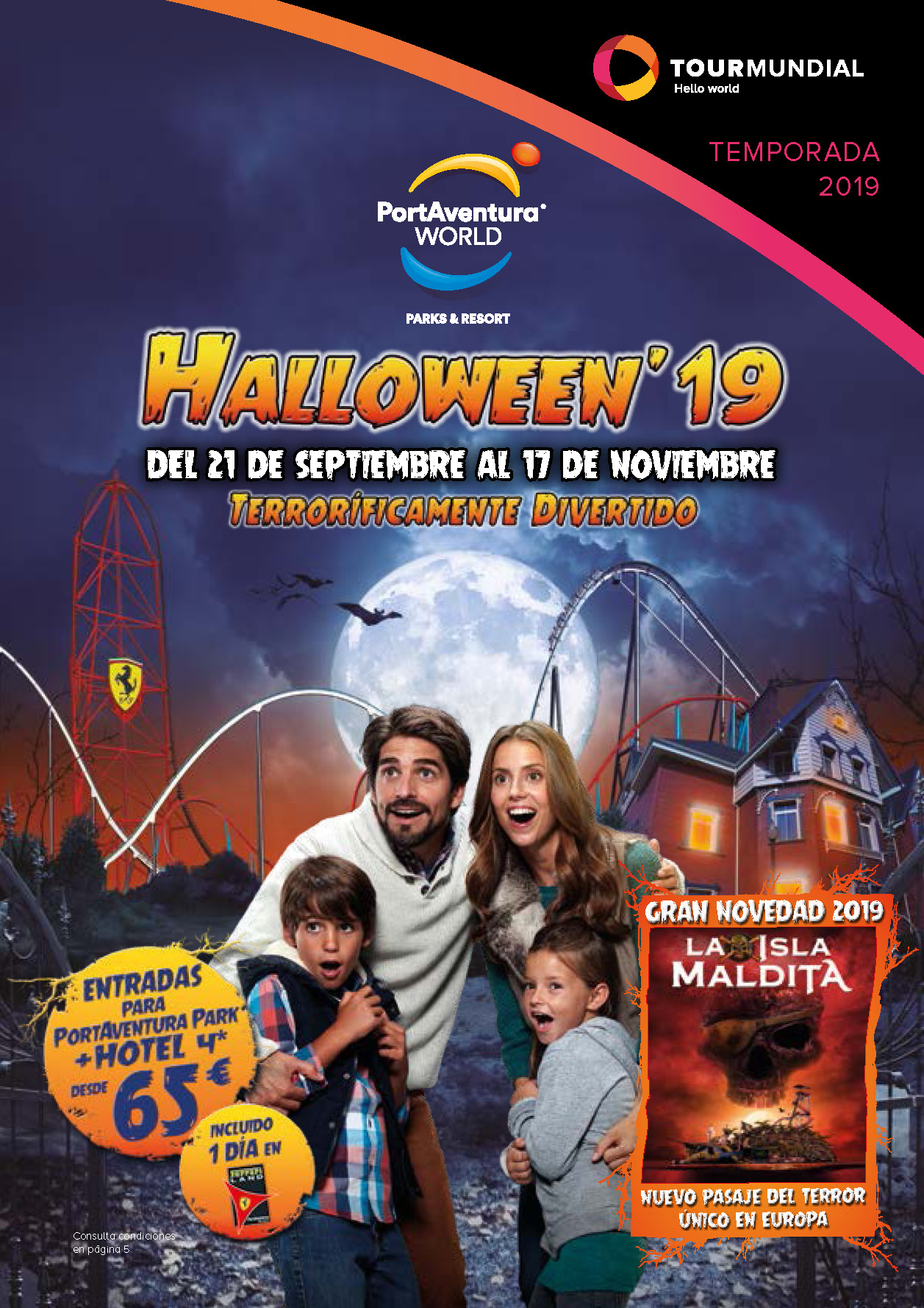Catalogo Tourmundial Port Aventura World Halloween 2019