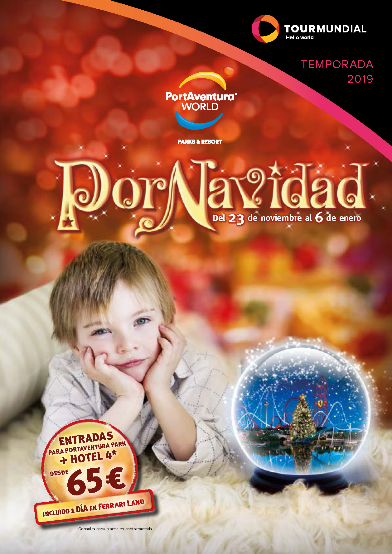 Catalogo Tourmundial Port Aventura World Navidad 2019