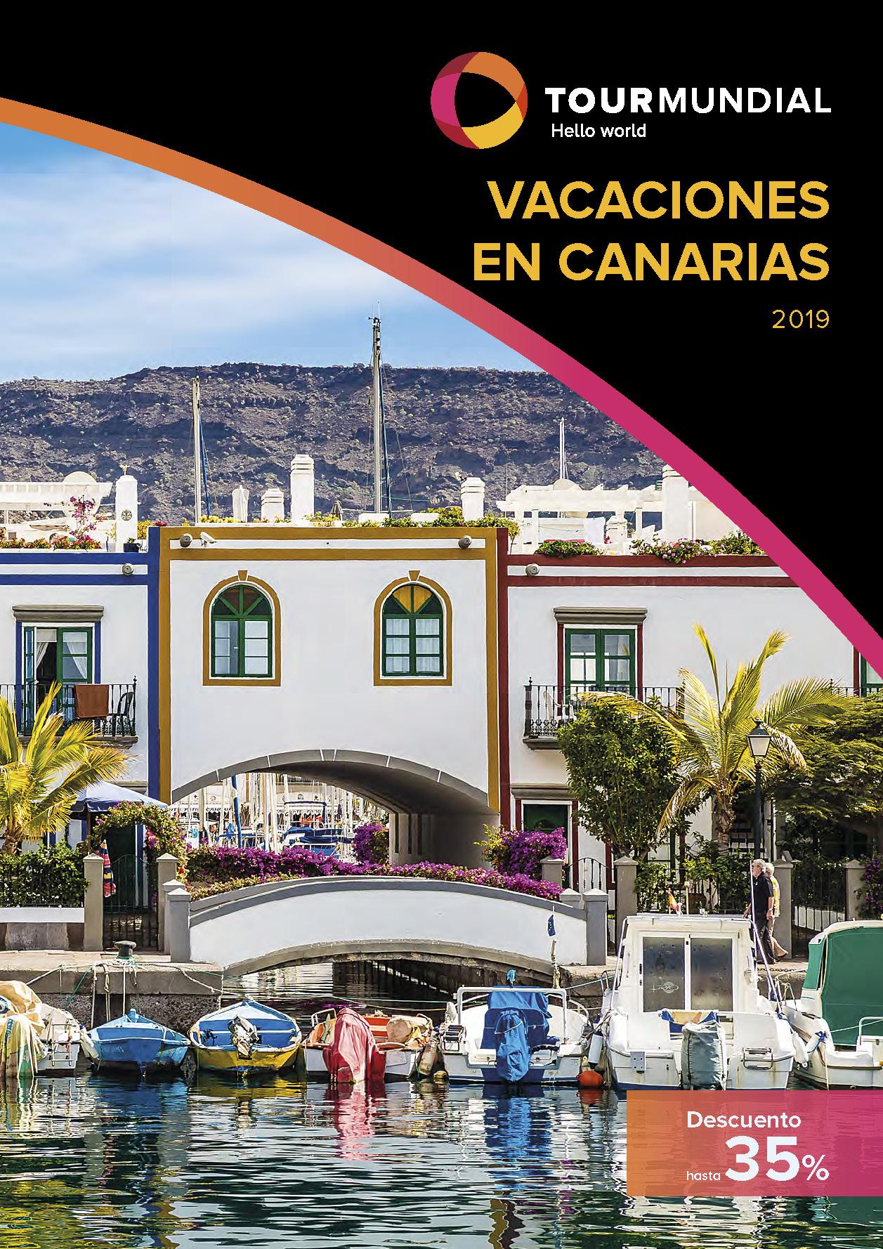Catalogo Tourmundial Vacaciones en Canarias 2019