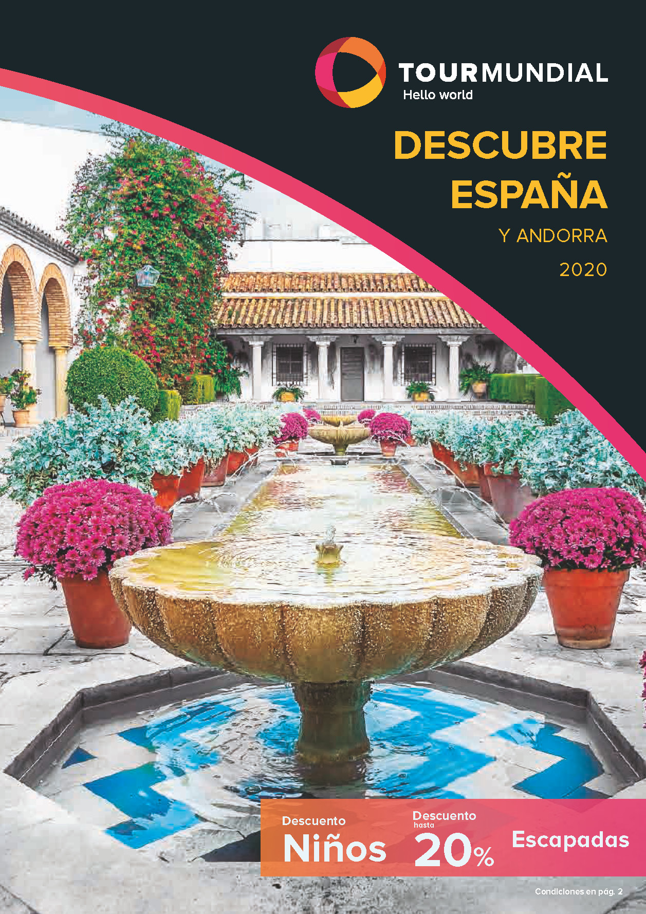 Catalogo Tourmundial Vacaciones y Escapadas en España 2020