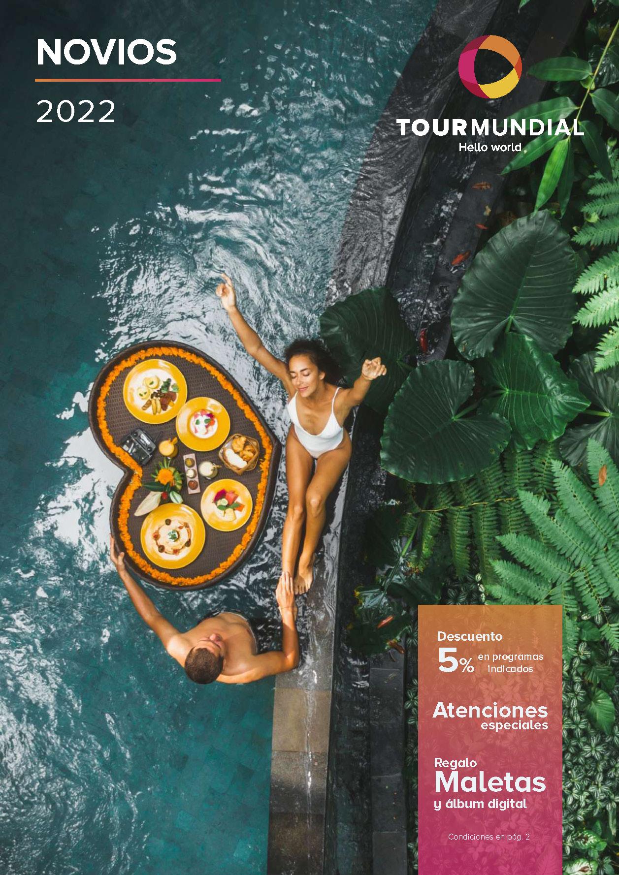 Catalogo Tourmundial Viajes de Novios 2022