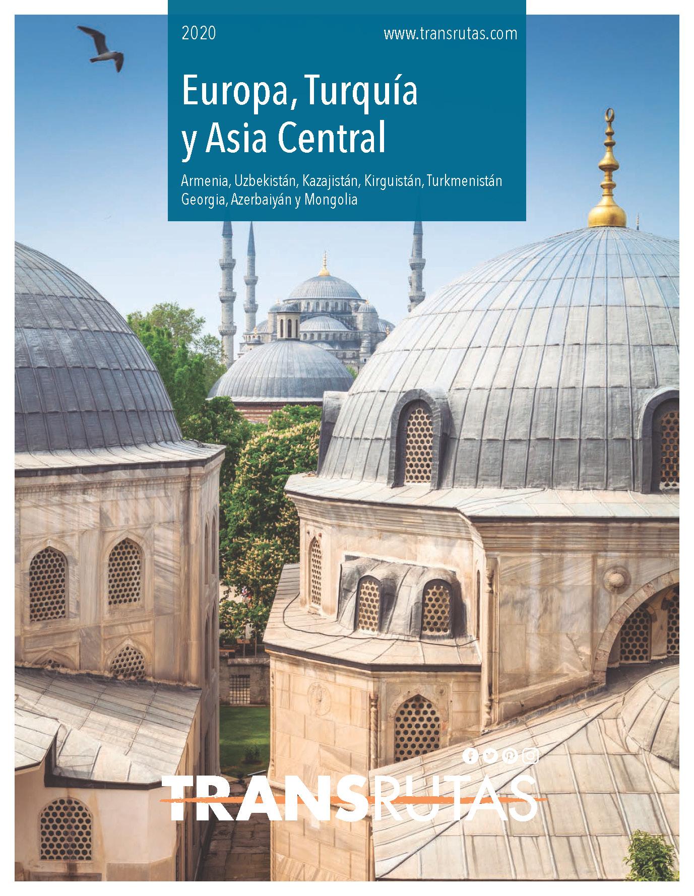 Catalogo Transrutas Europa Turquia y Asia Central 2020
