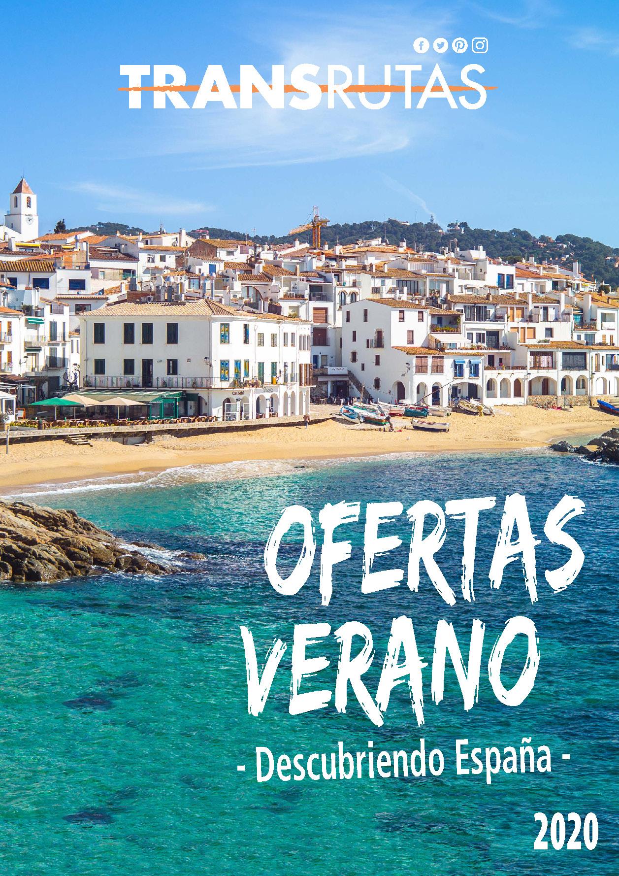 Catalogo Transrutas Ofertas Espana Verano 2020