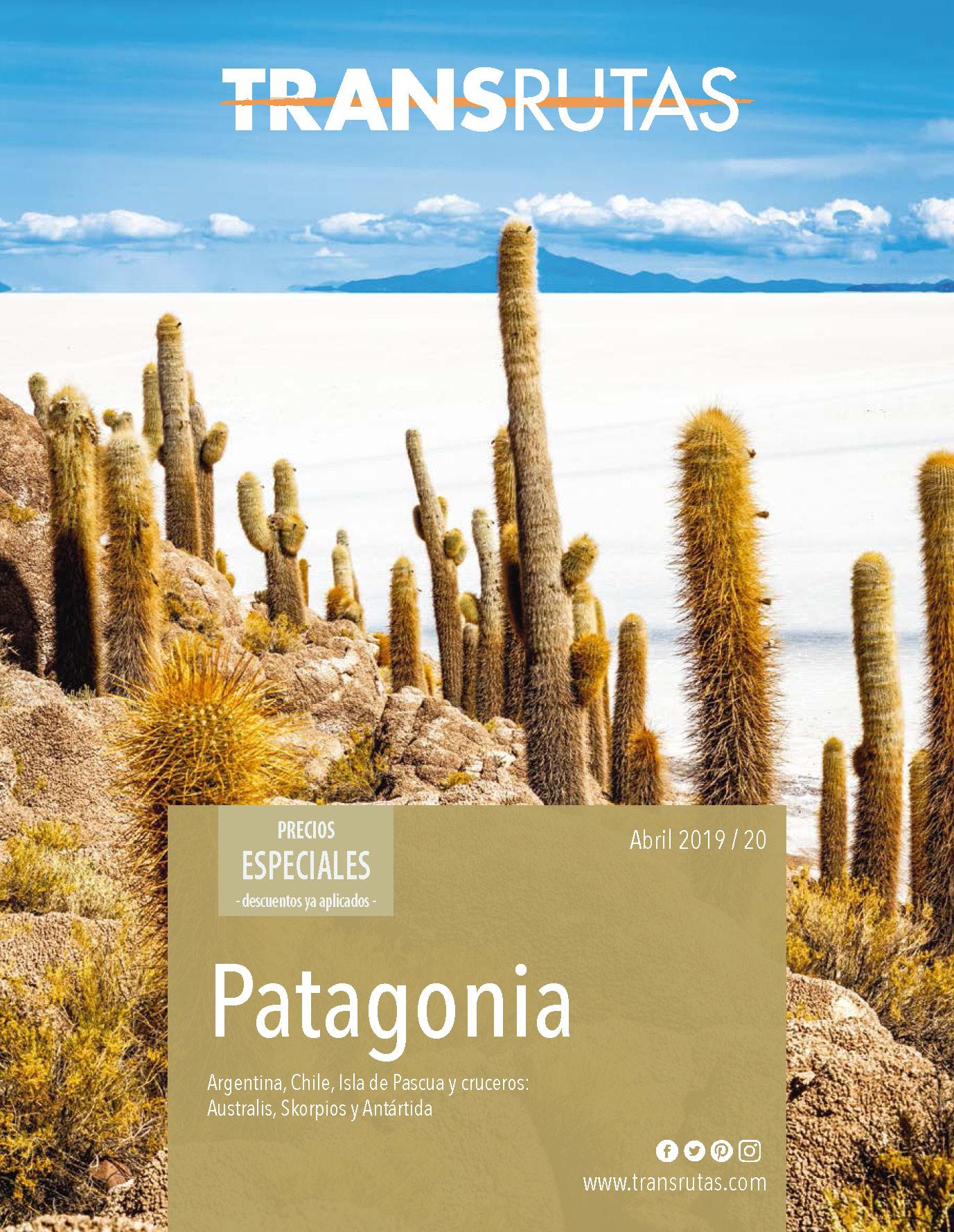 Catalogo Transrutas Patagonia 2019