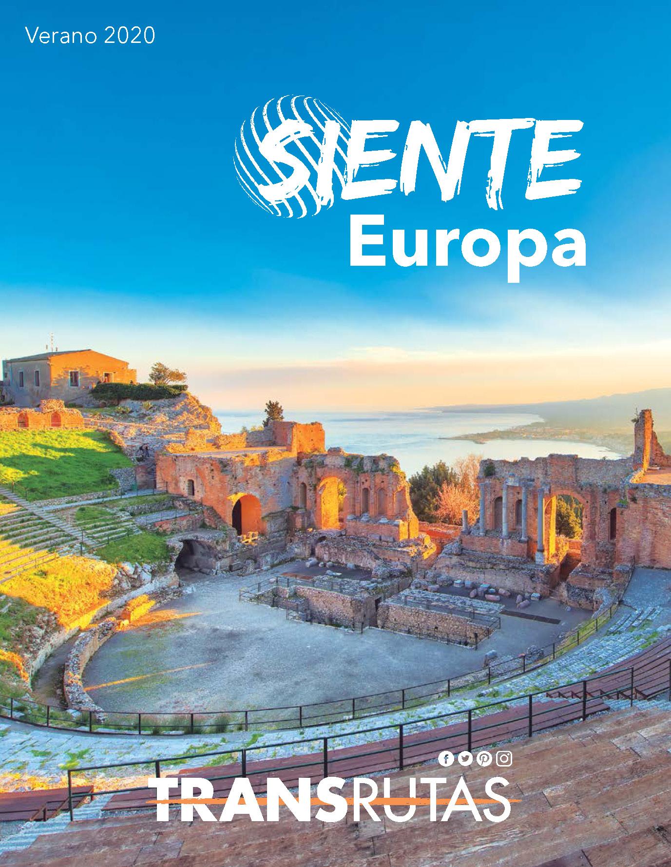 Catalogo Transrutas Siente Europa Verano 2020