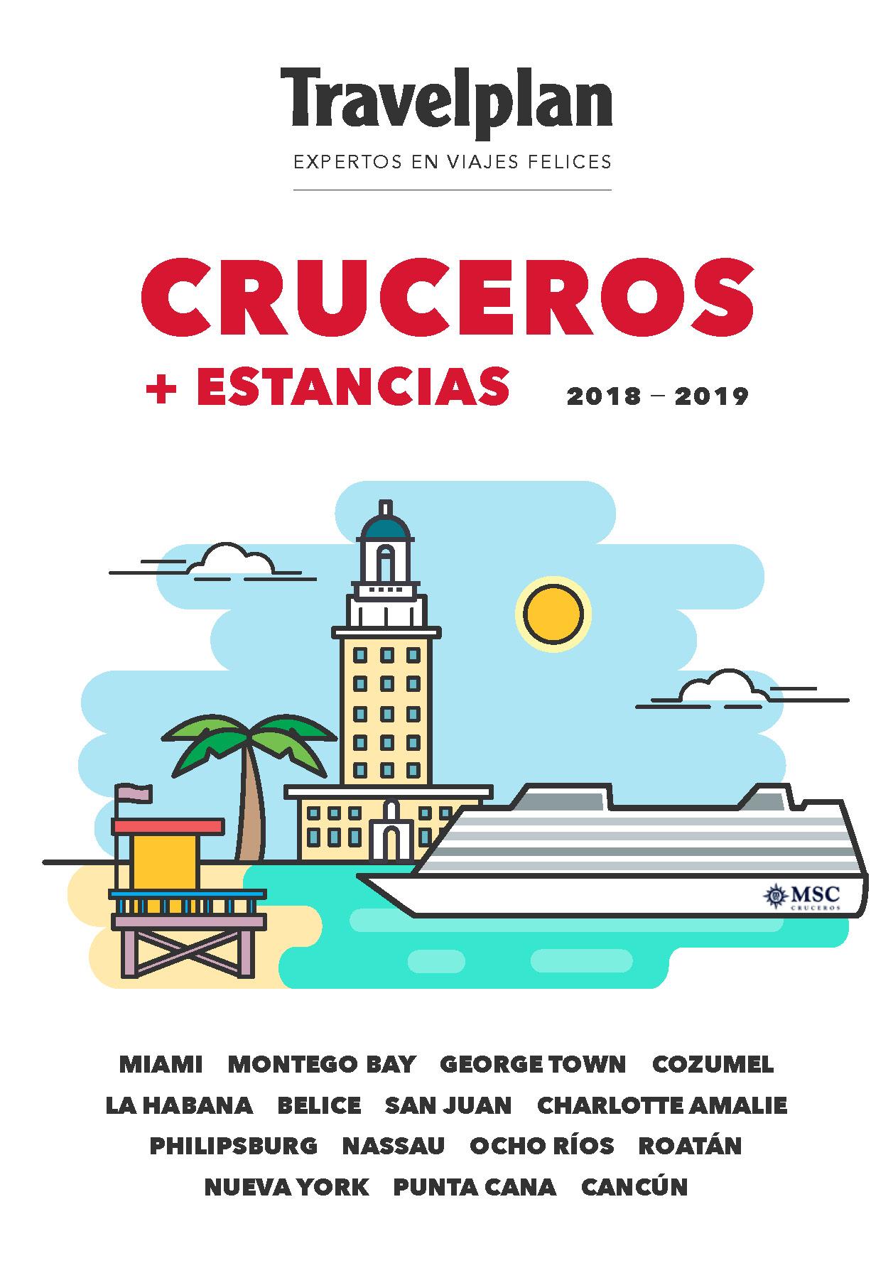 Catalogo Travelplan Cruceros por el Caribe 2018-2019