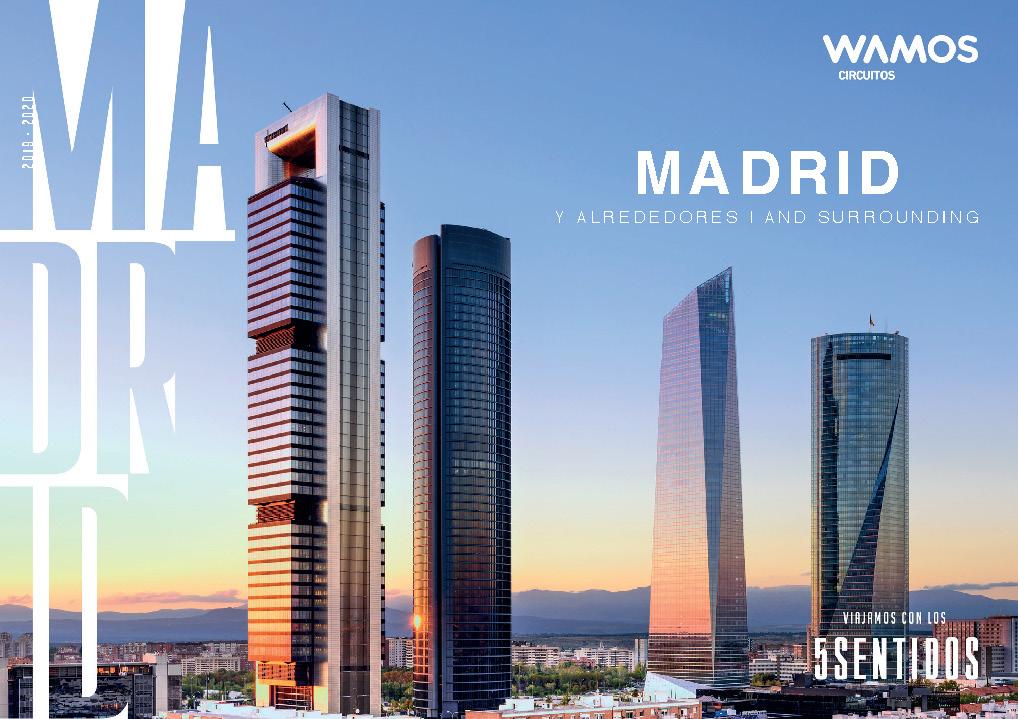 Catalogo Wamos Circuitos Excursiones Madrid 2019-2020