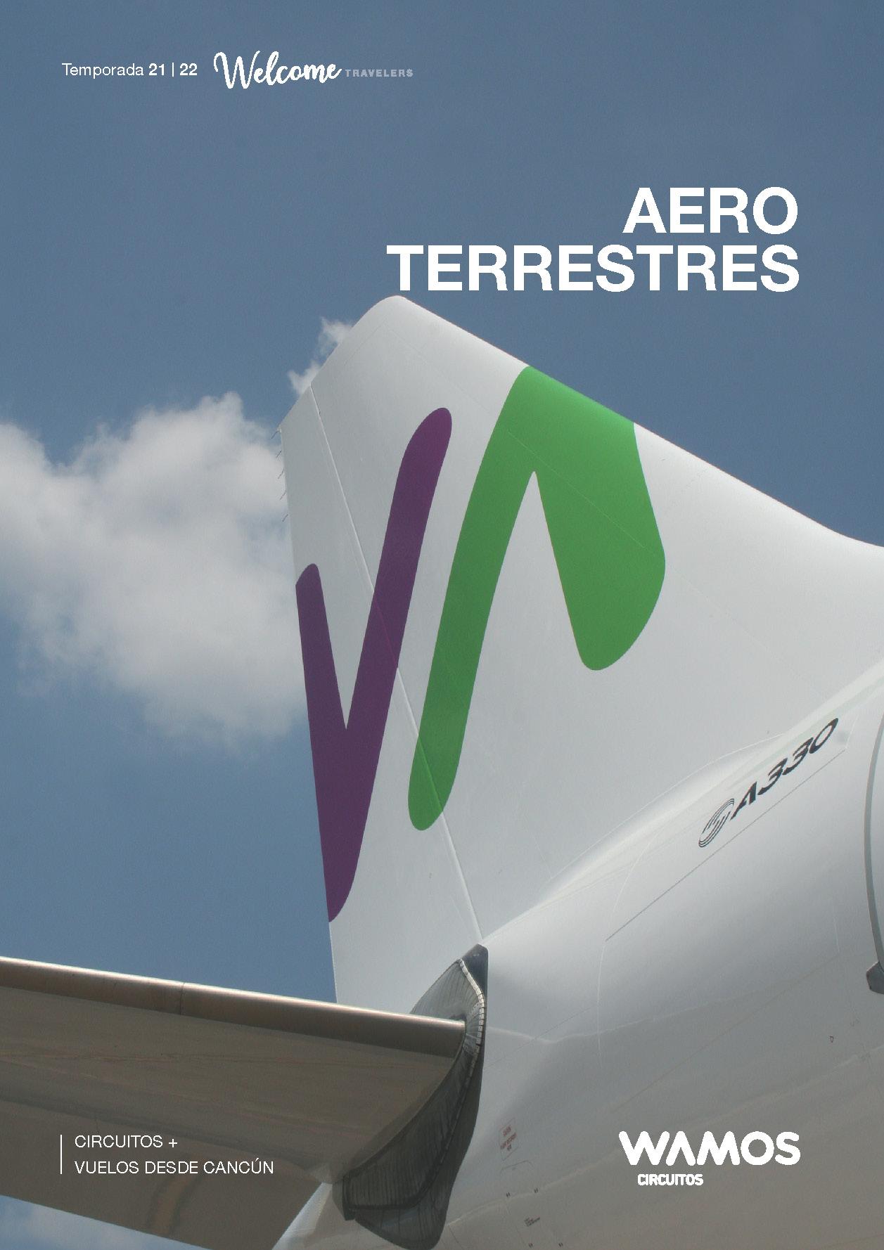 Catalogo Wamos Cirsuitos Aero-terrestres por España y Europa 2021-2022