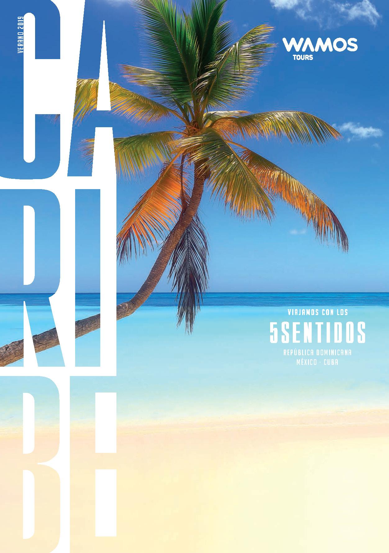 Catalogo Wamos Tours Caribe Verano 2019