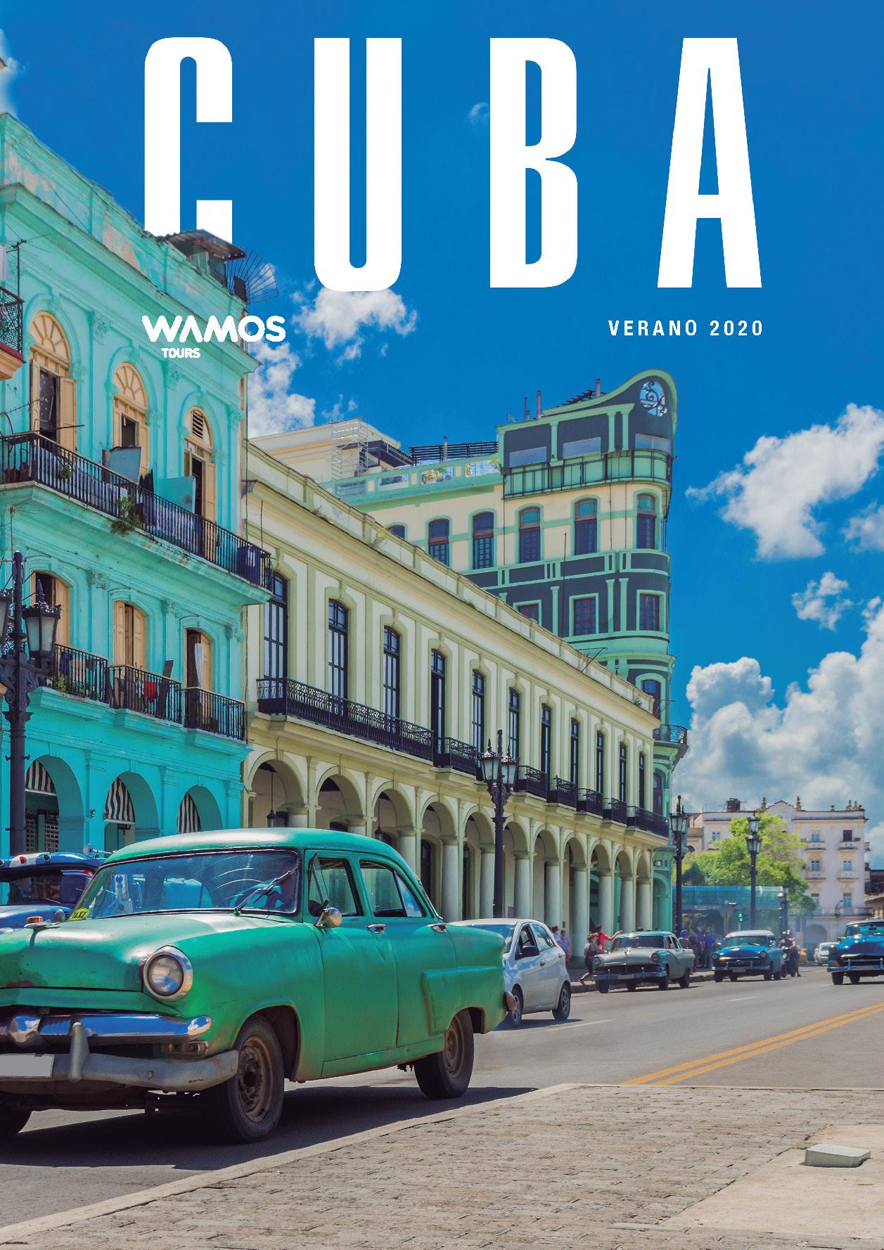 Catalogo Wamos Tours Cuba Verano 2020