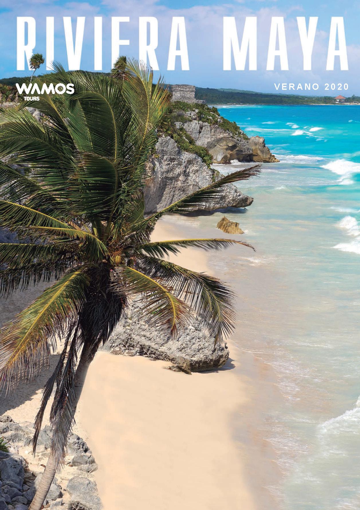 Catalogo Wamos Tours Riviera Maya Verano 2020