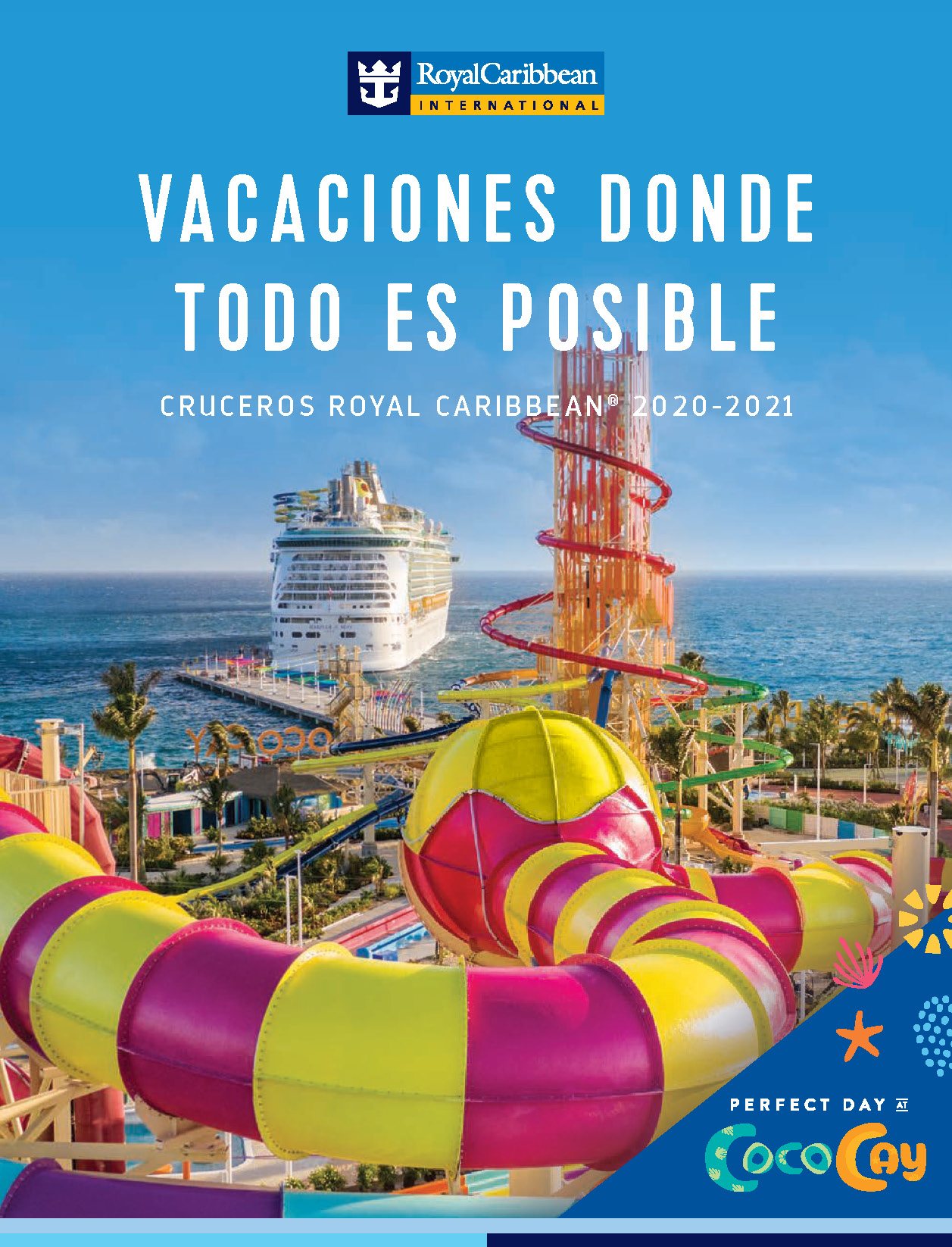 Catalogo cruceros Royal Caribbean 2020-2021