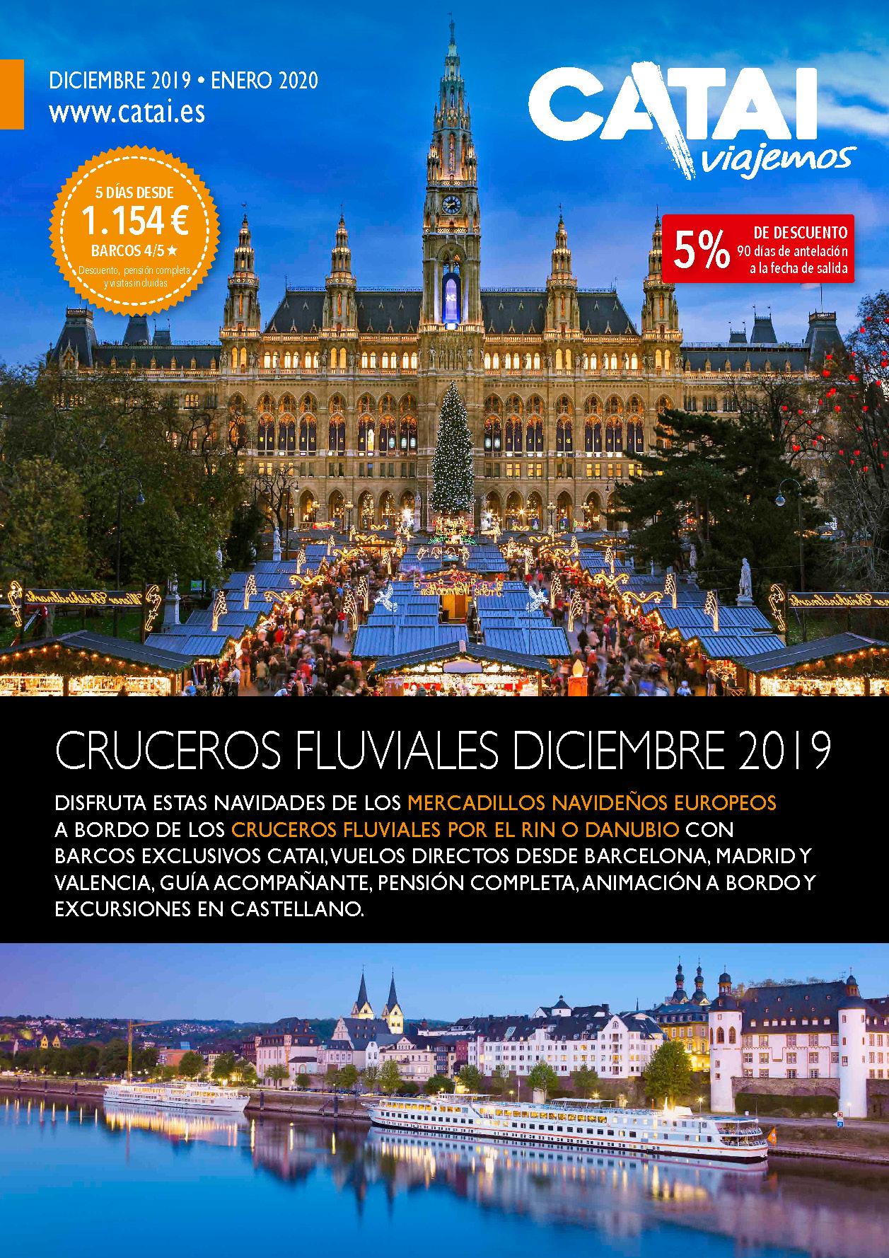 Diptico Catai Cruceros Fluviales Diciembre 2019