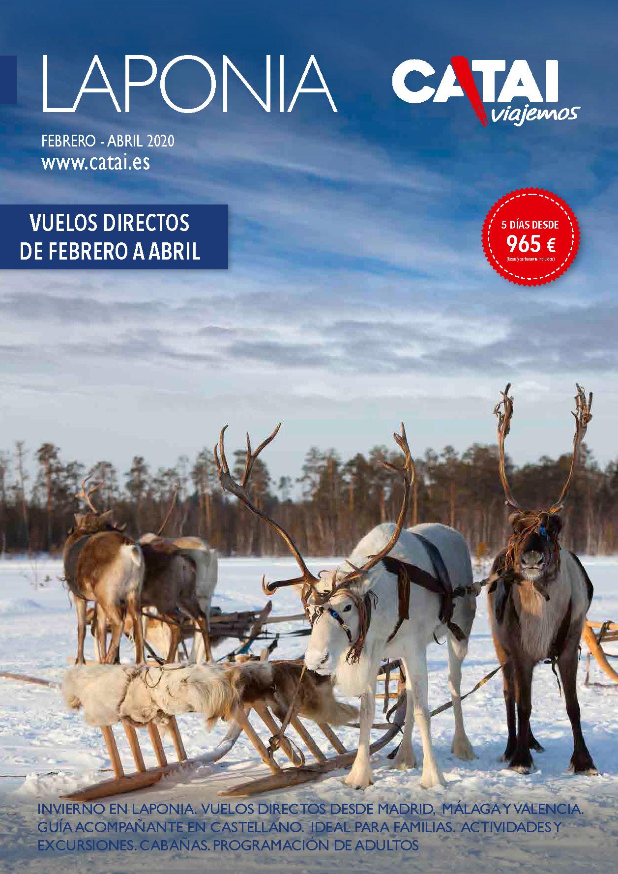 Diptico Catai Laponia Invierno 2020