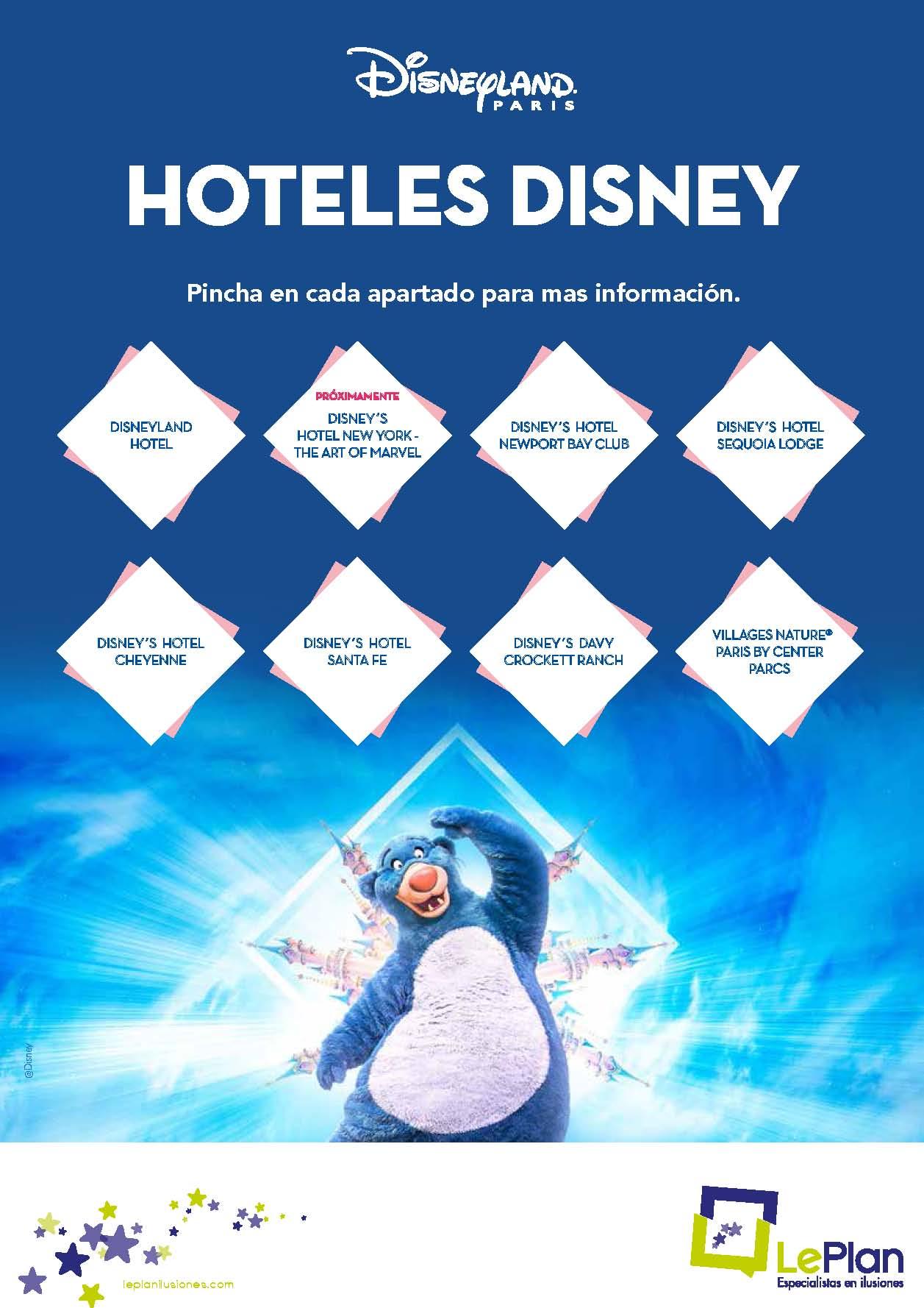 Fichas Tecnicas hoteles Disneyland Paris 2021
