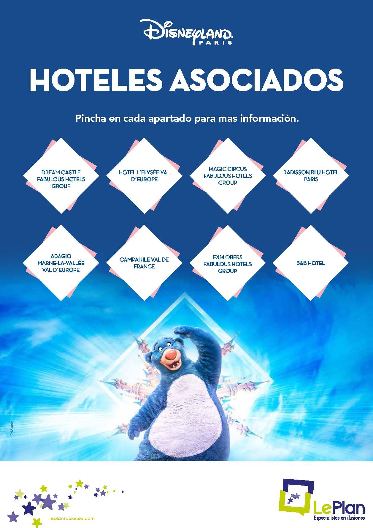 Fichas Tecnicas hoteles asociados Disneyland Paris 2021