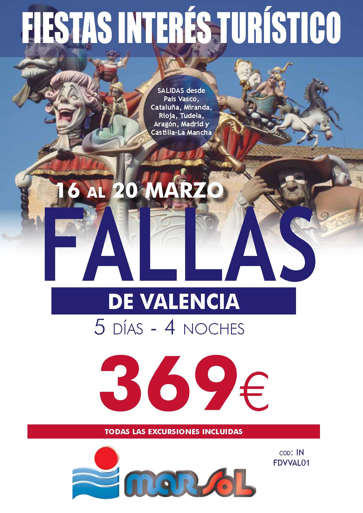 Folleto Marsol Fallas FALLAS 2019