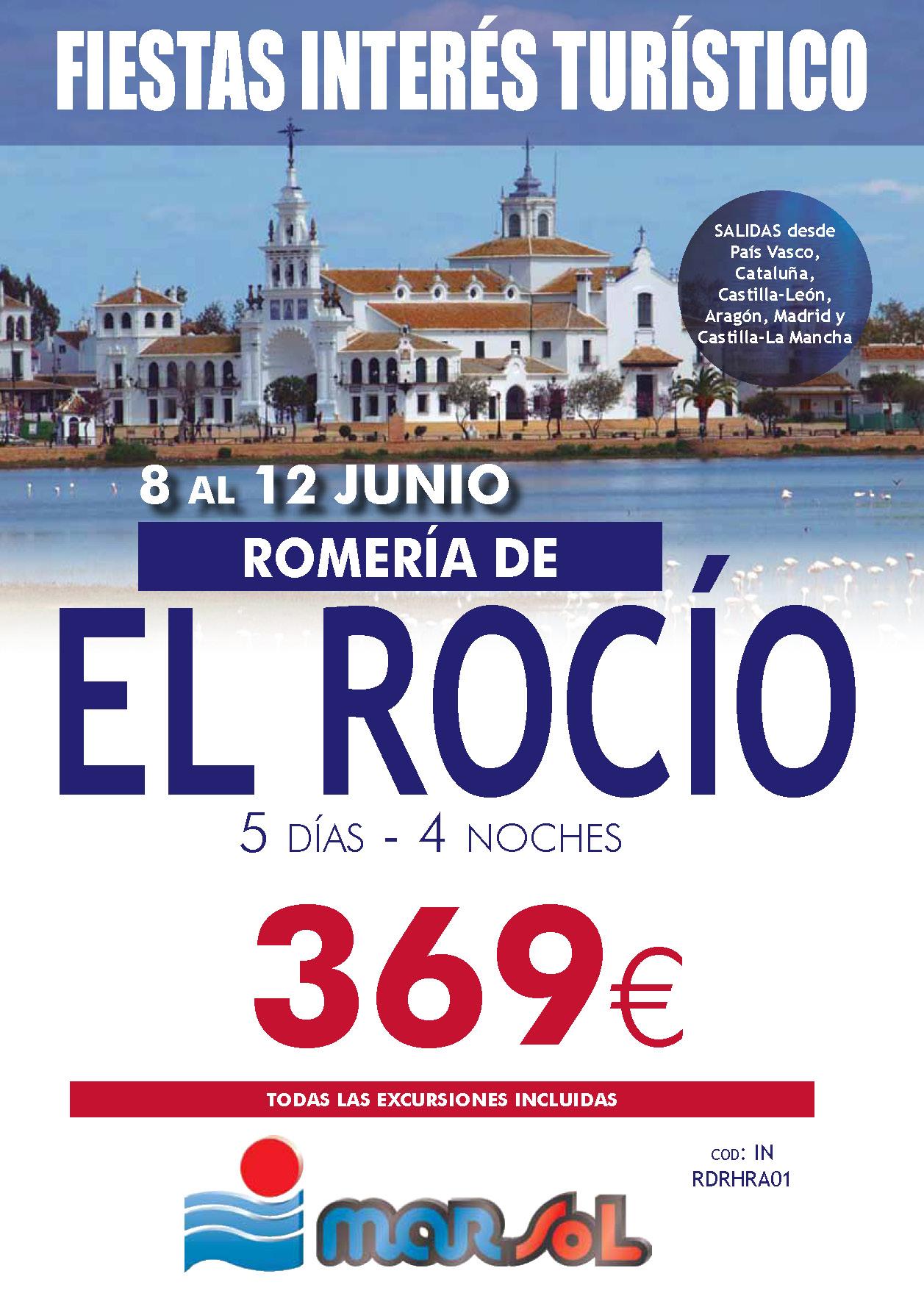 Folleto Marsol ROMERIA EL ROCIO 2019