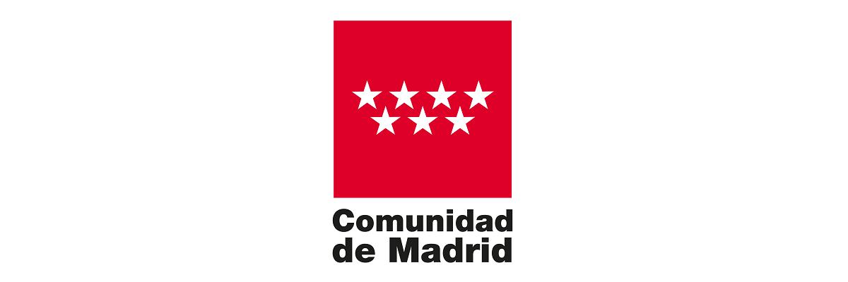 Logotipo Comunidad de Madrid 1200x400