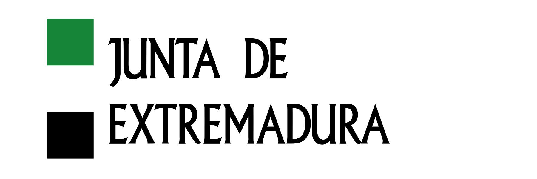 Logotipo Junta de Extremadura 1800x600
