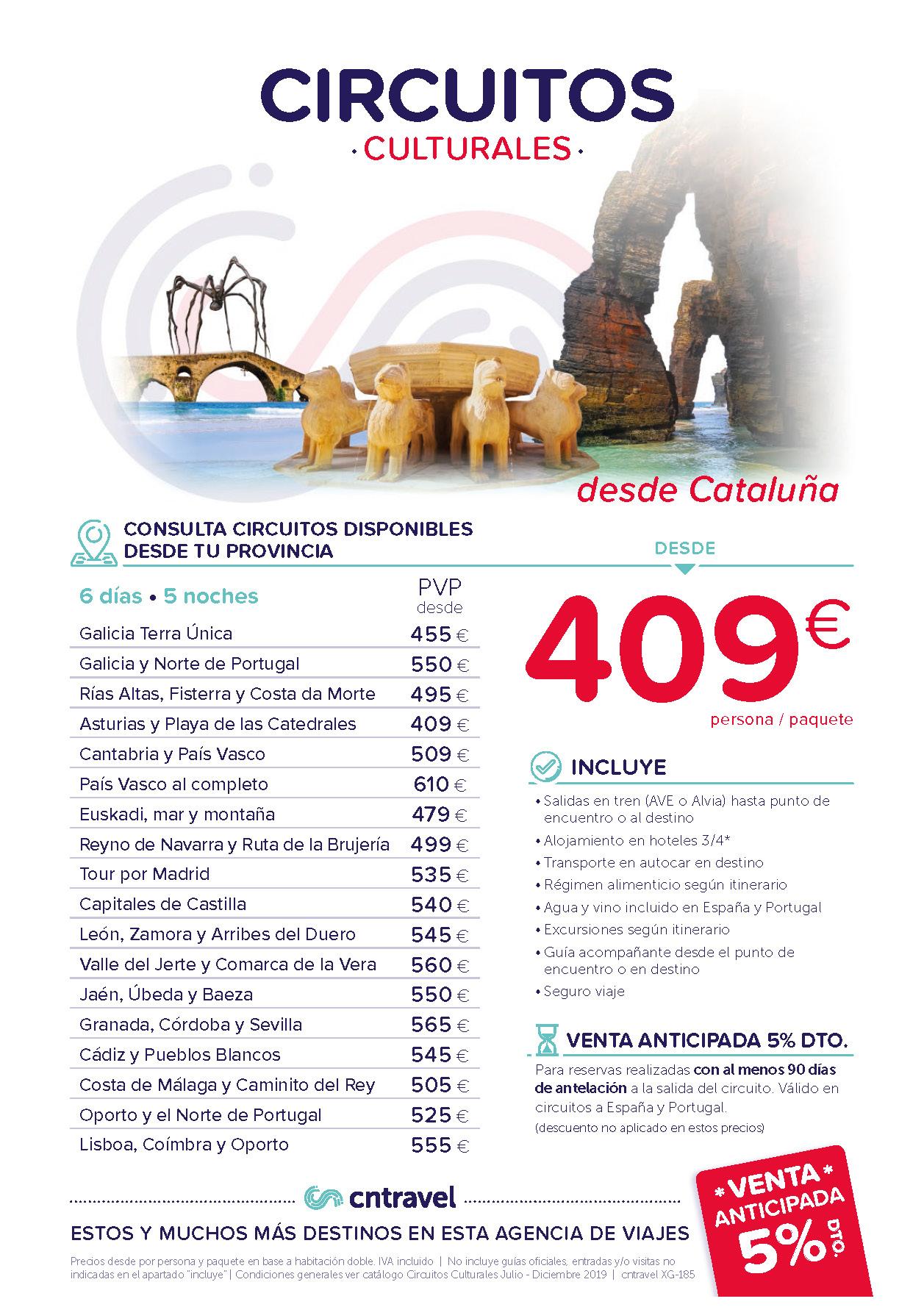 Ofertas CN Travel Venta Anticipada 2020