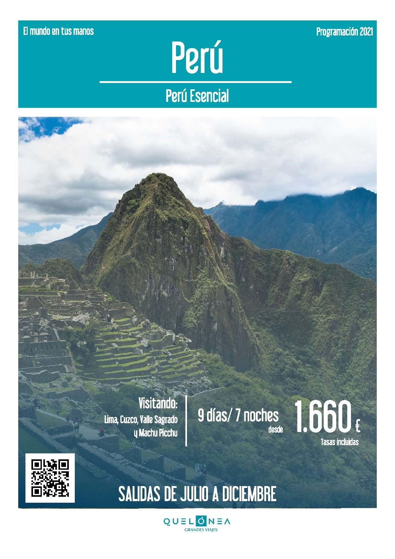 Ofertas Quelonea Peru Esencial Verano y Otono 2021