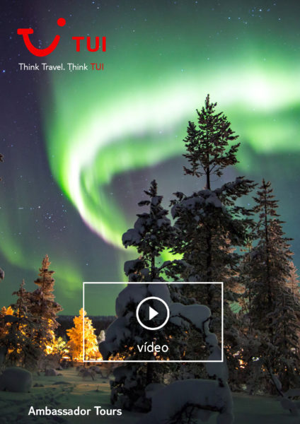Video TUI Finlandia 7 Auroras