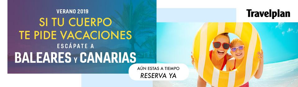 Ofertas Travelplan Baleares y Canarias